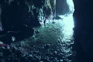 青の洞窟 能登半島